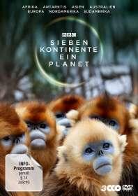 Sieben Kontinente - Ein Planet, DVD