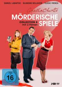 Nicolas Picard-Dreyfuss: Agatha Christie: Mörderische Spiele Collection 8, DVD