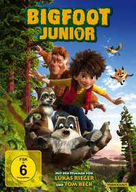 Bigfoot Junior, DVD