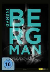 Ingmar Bergman - 100th Anniversary Edition, 10 DVDs
