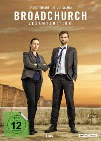 Broadchurch (Gesamtedition), DVD