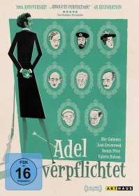 Robert Hamer: Adel verpflichtet, DVD