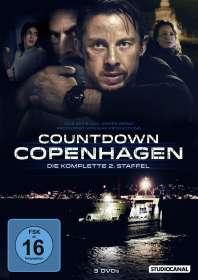 Mogens Hagedorn: Countdown Copenhagen Staffel 2, DVD