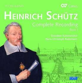 Heinrich Schütz (1585-1672): Heinrich Schütz - Die Gesamteinspielung Box 1 (Carus Schütz-Edition), CD
