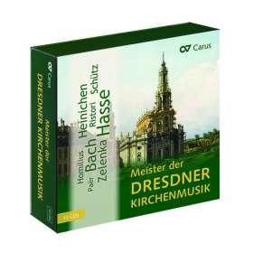 Meister der Dresdner Kirchenmusik (exklusiv für jpc), 10 CDs