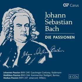 Johann Sebastian Bach (1685-1750): Die Passionen (exklusive Box für jpc), CD