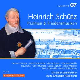 Heinrich Schütz (1585-1672): Psalmen & Friedensmusiken (Carus Schütz-Edition Vol.20), 2 CDs