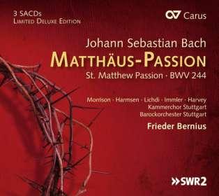 Johann Sebastian Bach (1685-1750): Matthäus-Passion BWV 244, SACD