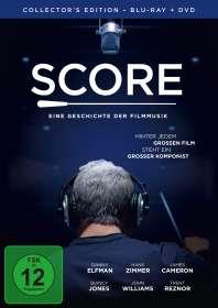 Score - Eine Geschichte der Filmmusik (Collector's Edition) (Blu-ray & DVD), Blu-ray Disc