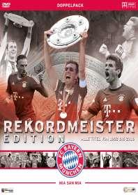 FC Bayern München: Rekordmeister Edition - Alle Titel von 1932 bis 2016, 2 DVDs