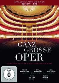 Ganz grosse Oper - Vorhang auf für eine Liebeserklärung (Blu-ray & DVD), Blu-ray Disc