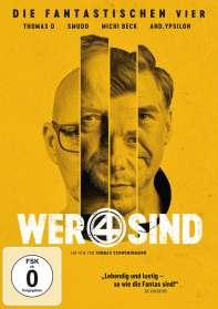 Thomas Schwendemann: Wer 4 sind - Die Fantastischen Vier, DVD