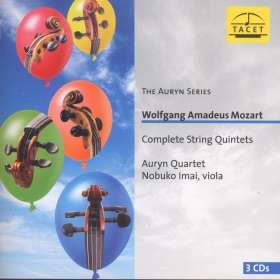 Wolfgang Amadeus Mozart (1756-1791): Sämtliche Streichquintette, CD
