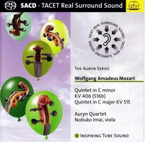 Wolfgang Amadeus Mozart (1756-1791): Streichquintette Nr.2 & 3, SACD