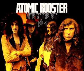 Atomic Rooster: Live At The BBC & German TV, 2 CDs