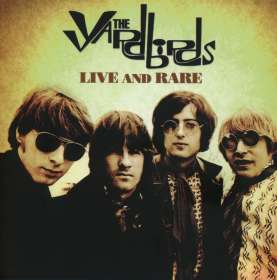 The Yardbirds: Live & Rare, 4 CDs