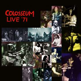 Colosseum: Live '71 - Canterbury,  Brighton & Manchester, CD