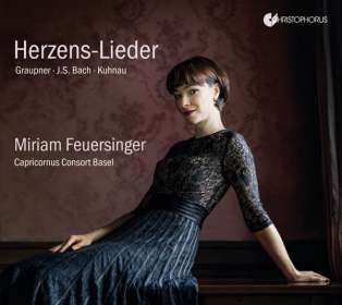 Herzens-Lieder - Deutsche Barock-Kantaten, CD