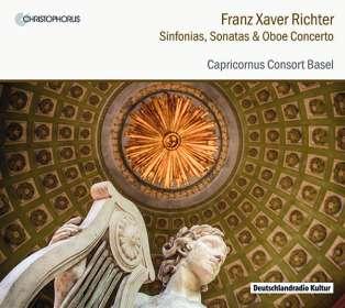 Franz Xaver Richter (1709-1789): Sinfonias, Sonaten, Oboenkonzert, CD