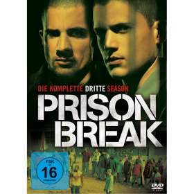 Prison Break Season 3, DVD