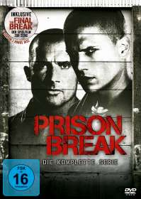Prison Break (Komplette Serie + Spielfilm »Final Break«), DVD