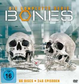 Bones - Die Knochenjägerin (Komplette Serie), DVD