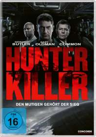 Donovan Marsh: Hunter Killer, DVD