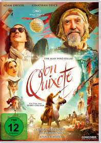Terry Gilliam: The Man Who Killed Don Quixote, DVD