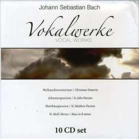 Johann Sebastian Bach (1685-1750): Vokalwerke, 10 CDs