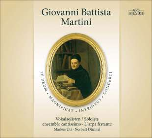 Giovanni Battista Martini (1706-1784): Geistliche Werke, CD