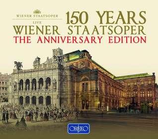 150 Jahre Wiener Staatsoper - Great Opera Evenings, 22 CDs