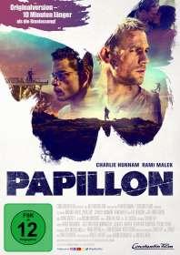 Papillon (2018), DVD