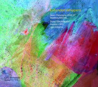 Jean-Christophe Cholet & Matthieu Michel: Extended Whispers, CD