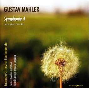 Gustav Mahler (1860-1911): Symphonie Nr.4 (Bearbeitung für Kammerensemble von Erwin Stein), CD