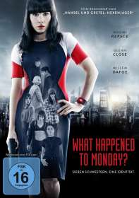 What Happened To Monday?, DVD