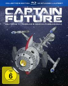 Captain Future (Komplettbox) (Collector's Edition) (Blu-ray), BR