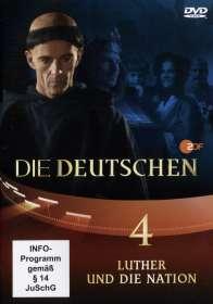 Olaf Götz Christian Twente Stephan Koester Erica von Moeller Robert Wiezorek : Die Deutschen Teil 4: Luther und die Nation, DVD