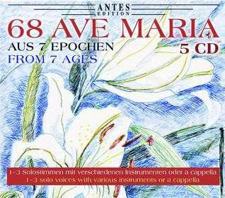 68 Ave Maria-Vertonungen aus 7 Epochen, CD
