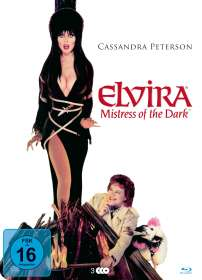 Elvira - Herrscherin der Dunkelheit (Blu-ray & DVD in Metallbox), 2 Blu-ray Discs
