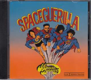 Missus Beastly: Space Guerilla, CD