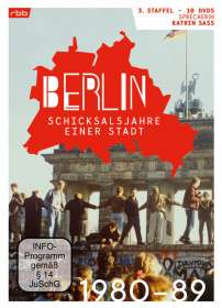 Berlin - Schicksalsjahre einer Stadt Staffel 3 (1980-1989), DVD
