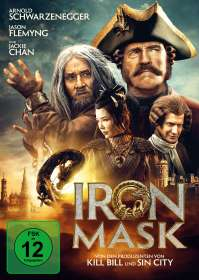 Oleg Stepchenko: Iron Mask, DVD