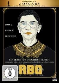 Betsy West: RBG - Ein Leben für die Gerechtigkeit, DVD