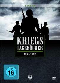 Kriegstagebücher Teil 1: 1939-1942, 4 DVDs