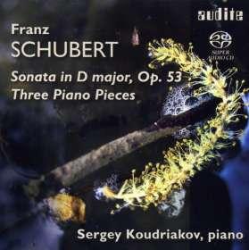 Franz Schubert (1797-1828): Klaviersonate D.850, SACD