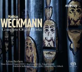 Matthias Weckmann (1619-1674): Orgelwerke (Ges.-Aufn.), SACD