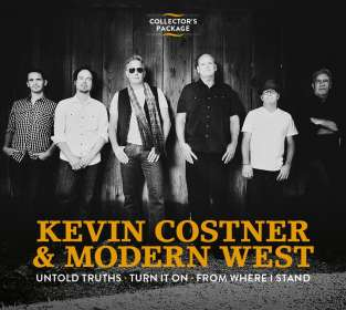 Kevin Costner & Modern West: Untold Truths / Turn It On / From Where I Stand, 3 CDs