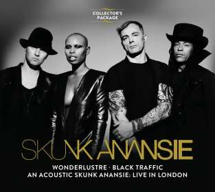 Skunk Anansie: Wonderlustre / Black Traffic / An Acoustic Skunk Anansie: Live In London, 3 CDs