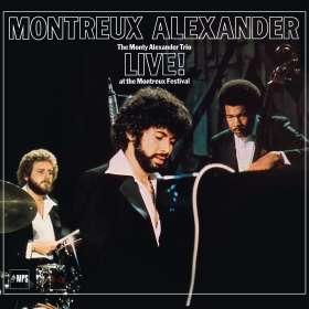 Monty Alexander (geb. 1944): Montreux Alexander - The Monty Alexander Trio Live! At The Montreux Festival (remastered) (180g), LP
