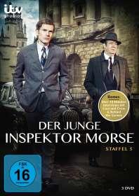 Der junge Inspektor Morse Staffel 5, DVD